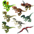 Миру юрского Динозавров Моделирование игрушки куклы Модели Парк Юрского Периода Динозавров фигурки Строительные блоки детей игрушки подарок