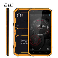 E&L W9 Smartphone Shockproof 6 Inch FHD 2GB RAM 16GB 8.0MP MTK6753 Octa Core 4000mAhe IP68 Waterproof Android 6.0 Mobile Phones