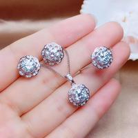 Специальная рекомендация, серебро 925 пробы, популярный стиль. 1 ct moissaniteThe world бум. Кольцо ухо ожерелье коготь.