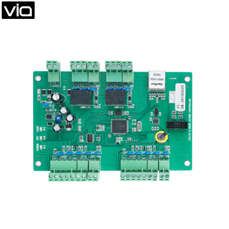 MC-5824T Direct Factory TCP/IP Two Doors Access Control Board,  100,000 Event Logs, Provides One 7A Lock Relay OutputMC-5824T Direct Factory TCP/IP Two Doors Access Control Board,  100,000 Event Logs, Provides One 7A Lock Relay Output