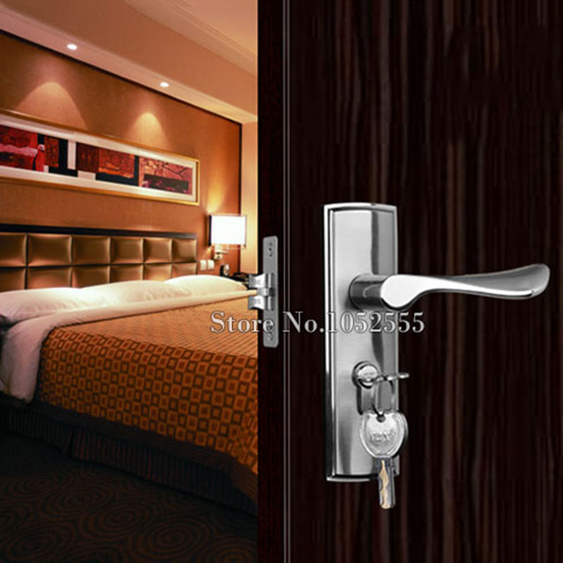top designed interior door lock living room bedroom bathroom door handle lock lever handle door. Black Bedroom Furniture Sets. Home Design Ideas