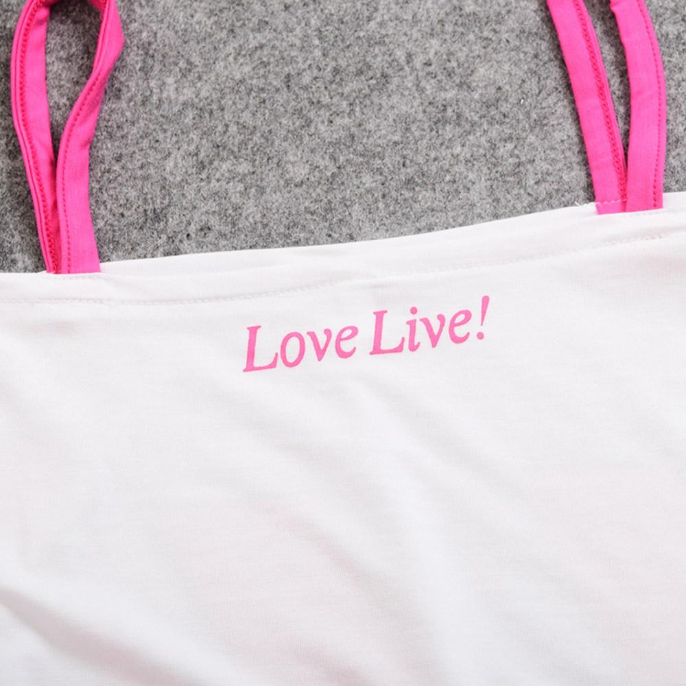 Аниме косплей Футболка Love Live Косака Хонока
