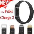 Tamaño pequeño y Grande Milanese Bucle de Acero Inoxidable Reloj de Pulsera Correa de la Venda Para Fitbit Cargo 2