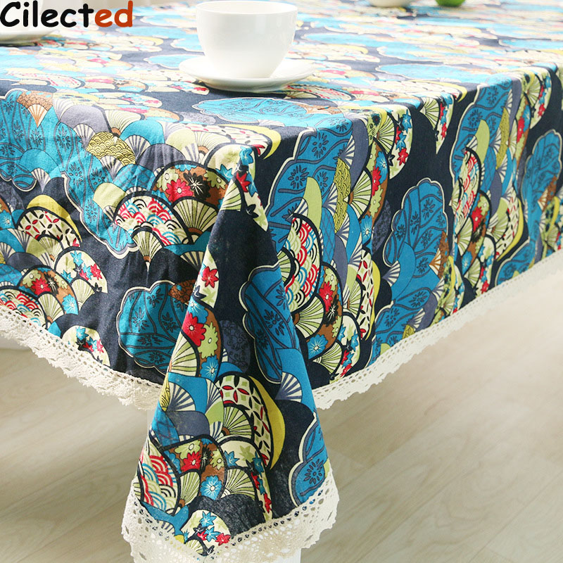 Cilected Tablecloth For Table Covers Ethnic Style Red Rectangular Extra Large  Tablecloths Dining Plaid Table Cloth