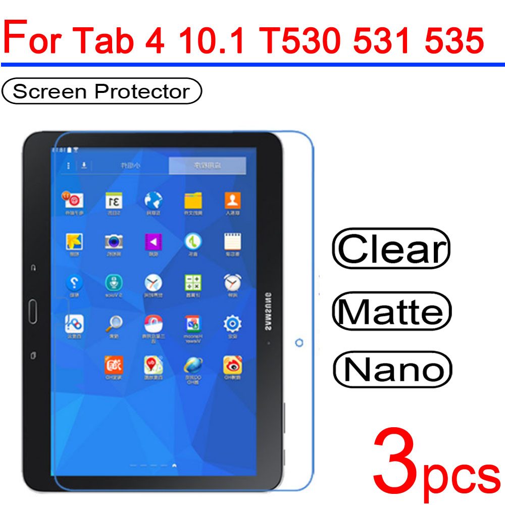 """Pack Of 1 Clear Tablet Screen Protector Guard For 10.1/"""" Samsung Galaxy Note"""