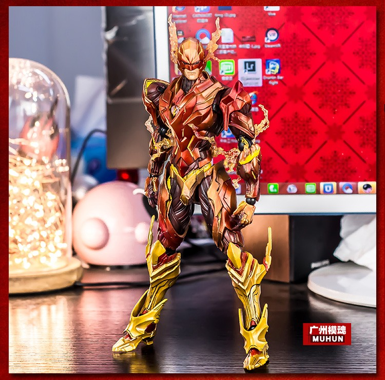 Hot Sale Square Enix Variant Play Arts Kai Super Hero The Flash DC Comics Action Figure Statue Model Toys spiller marcus urban infrastructure finance and management