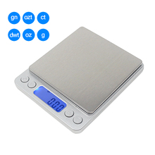 3kg/0.1g 500g/0.01g Digital LCD Weighing Scale Jewelry Scales Kitchen Weight Libra Precision Grams Weight Electronic Balance