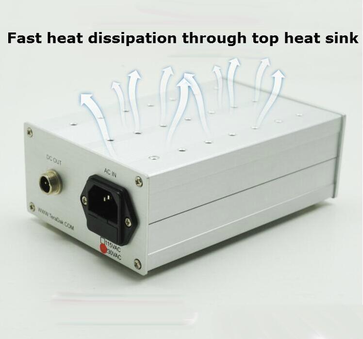 TeraDak DC30W SB3 DC hifi linear power supply DC 5V 3A