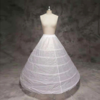 6 circles wedding dress petticoat underskirt