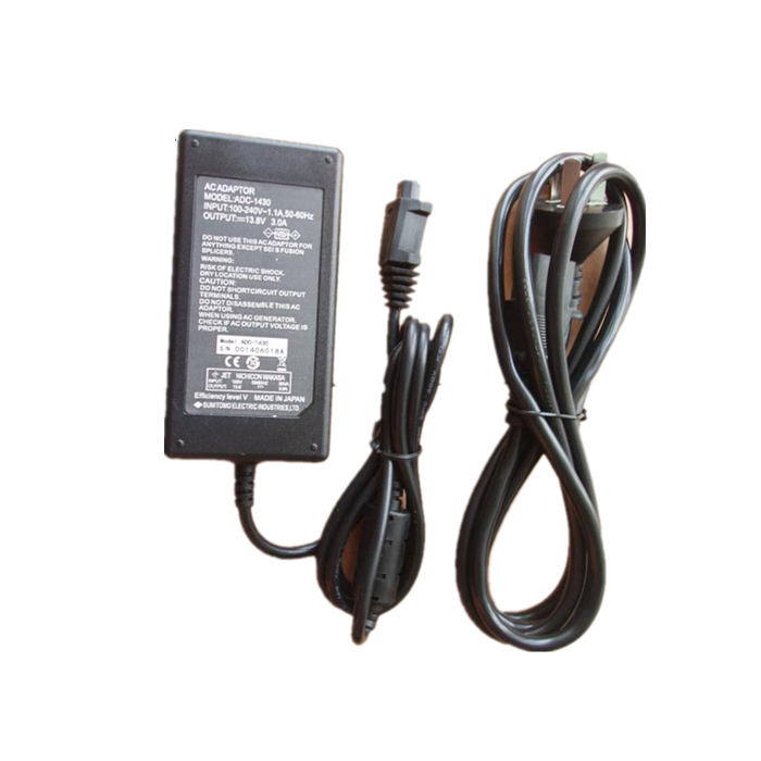 ADC-1430s Fiber Optic Fusion Splicer Adapter Charger AC Type-81C Power Adapter adc hx12bgc
