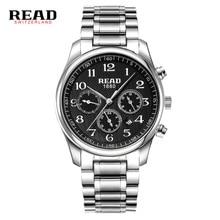 READ watch Multi-functional sports men's watch fashion belt watch quartz watch R6082