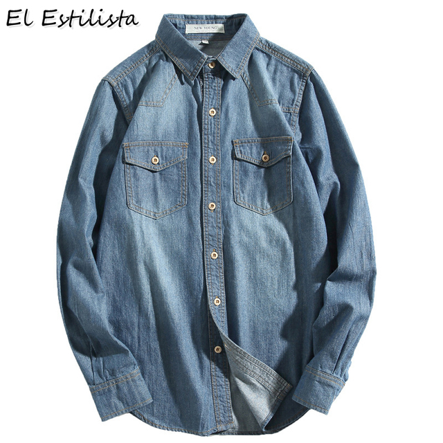 Sorry, that Vintage mens two pocket denim shirt