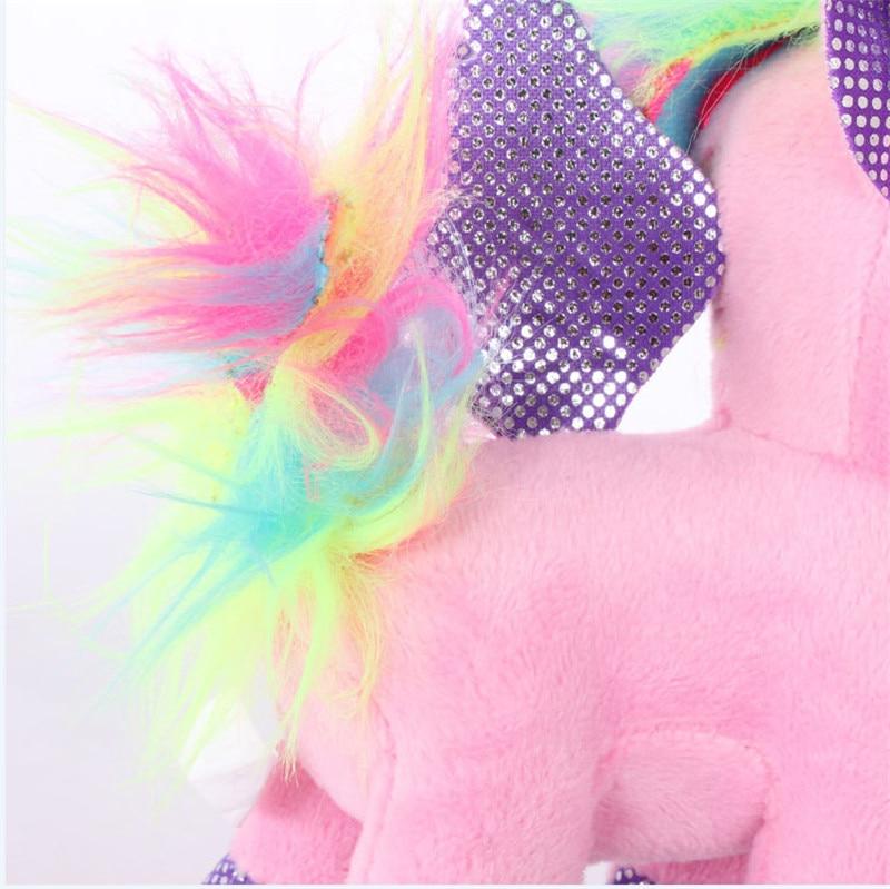 Plush Animal Unicorn Horse Stuffed Animals Toys Baby Infant Girls Toys Birthday Gift Rainbow licorne9