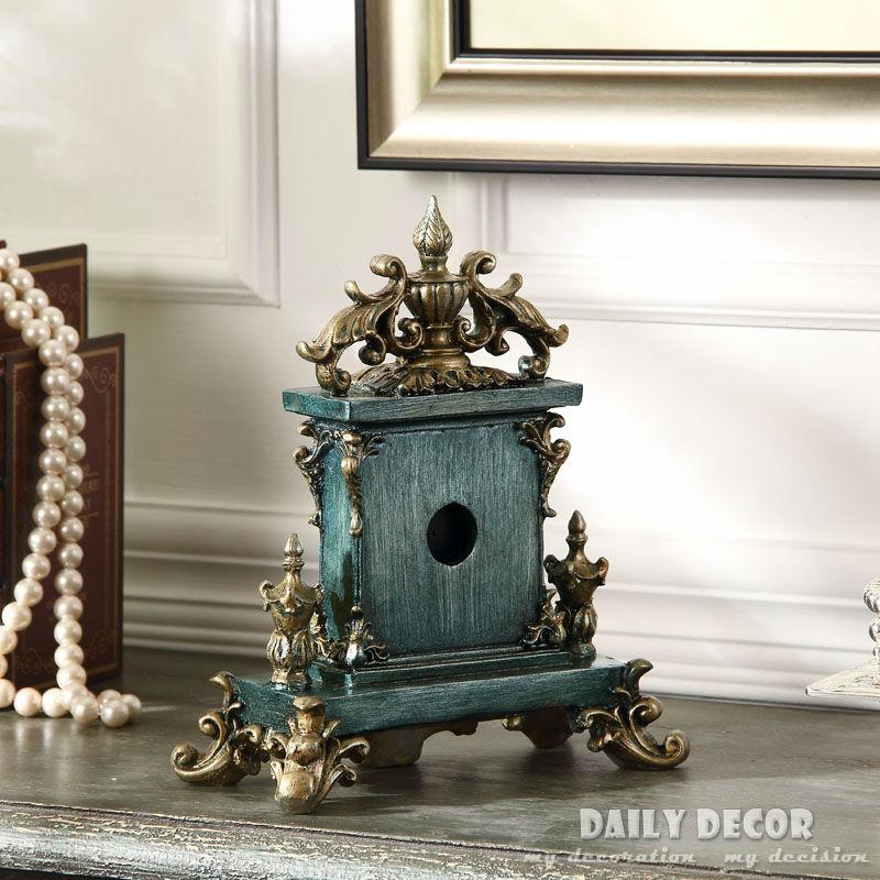 Vintage relojes de mesa europeos americanos soporte de decoración/reloj de escritorio reloj antiguo del abuelo reloj de mesa envío gratis-in Relojes de mesa y de escritorio from Hogar y Mascotas    2