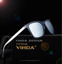 VIAHDA Aluminium + TR90 männer Polarisierte Spiegel Sonnenbrille Männlich Fahren Angeln Outdoor Eyewears Zubehör Sonnenbrille Für Männer