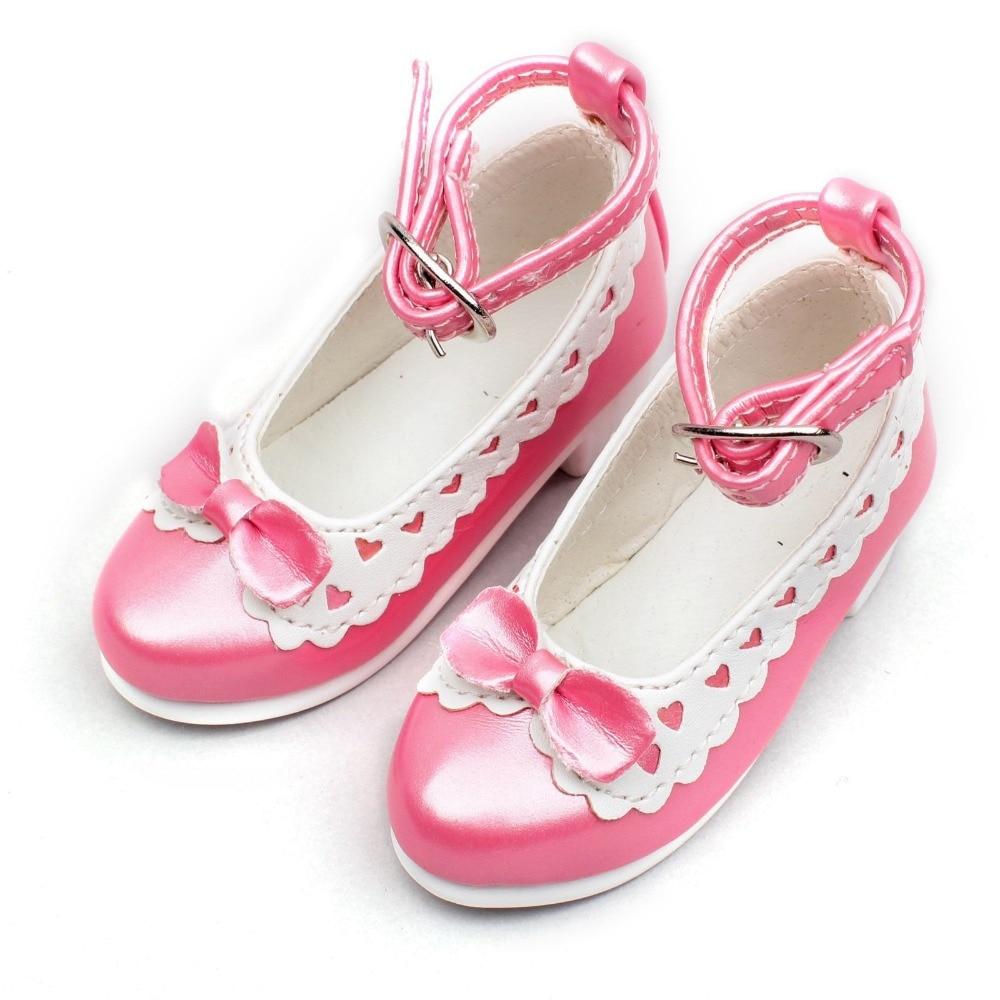 wamami 122 Pink 1 3 Cute Bow White Decoration BJD LOLI SD DOD LUTS AOD