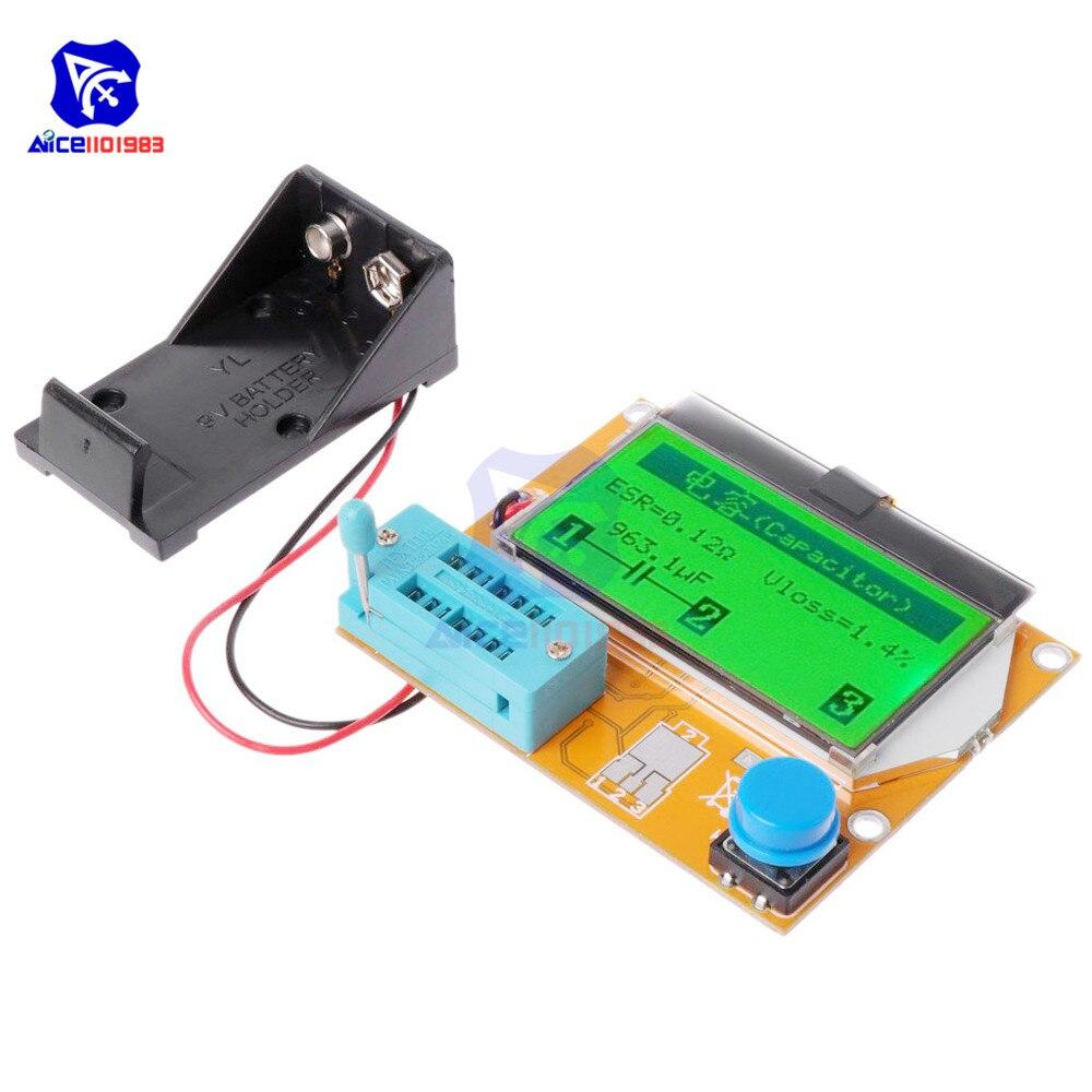 Test, Measurement & Inspection Other Test Meters & Detectors Big screen Transistor Tester Capacitance ESR Meter Diode Triode MOS NPN LCR new