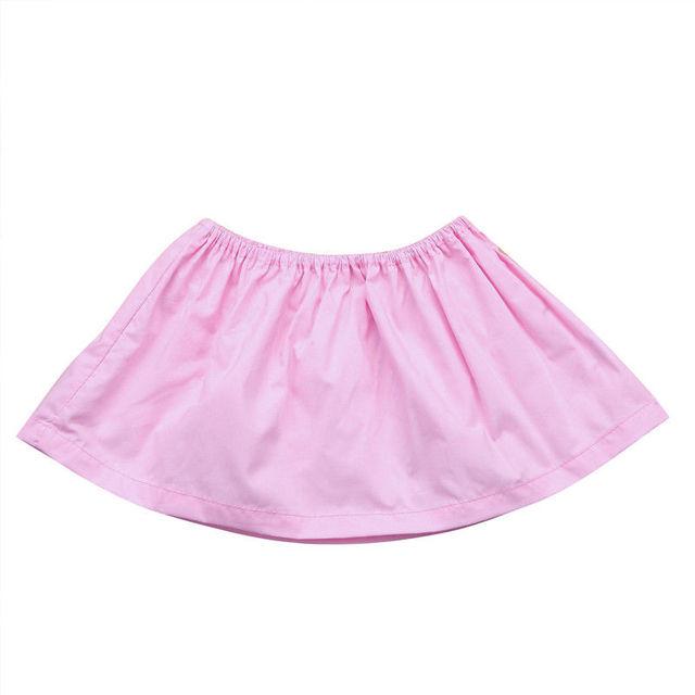 Newborn Infant Baby Girls T-Shirts Tube Tops Sleeveless T-shirts Summer Casual Tee Costume Black Pink Yellow 0-24M