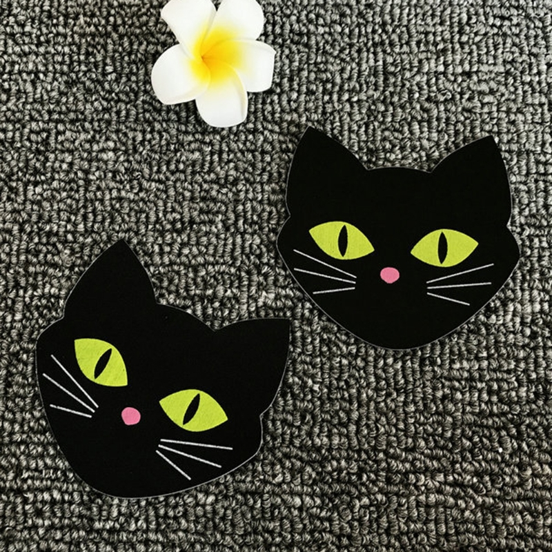 5Pairs Cat Disposable Adhesive Invisible Breast Nipple Stickers Lingerie Pasties glow in the dark