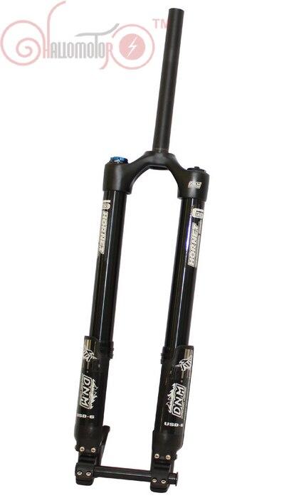 Бесплатная доставка conhismotor Ebike спереди Вилы DNM usd-6 Mountain Bike e Air Подвеска горные Запчасти для электровелосипедов