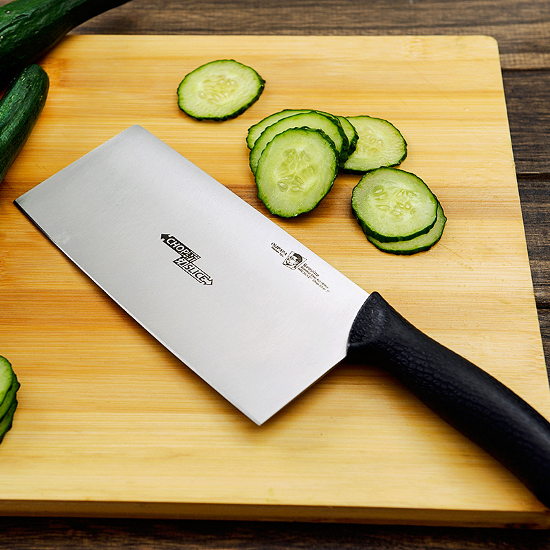 Free Shipping OldPaPa Household Chop Slicer font b Knife b font Stainless Steel Kitchen Multifunctional Chef