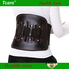 Tcare1 Pcs Leather Waist Health Care Belt protect lumbar Slimming Lower Back Support Waist Lumbar Brace Backache Pain Relief
