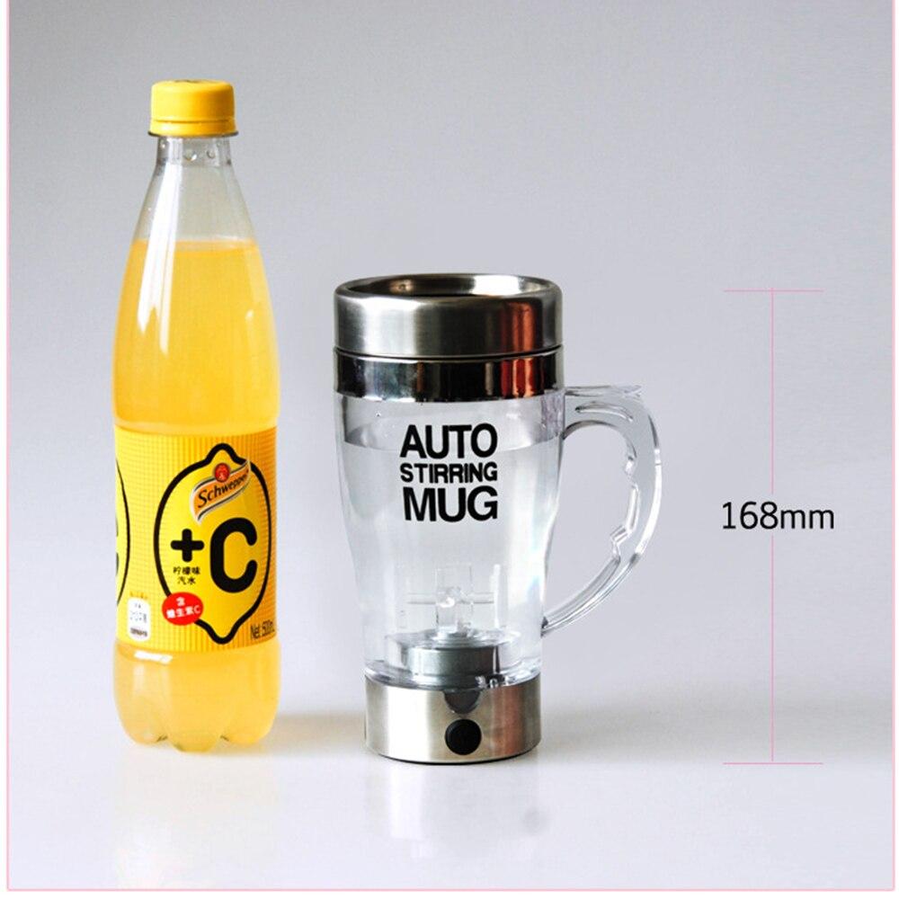Selbstrührende Kaffeetasse Doppelt isolierte Kaffeetasse 350 ml - Küche, Essen und Bar - Foto 2