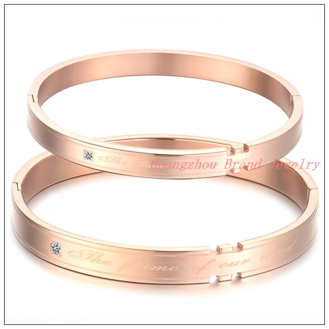 IP Rose font b Gold b font Hot Couples Lovers font b Jewelry b font 316L