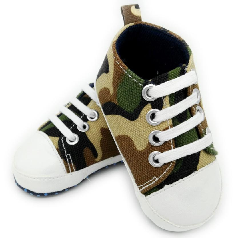 Toddler Baby Shoes Camouflage Sneaker Anti-slip Soft Sole Toddler Canvas Shoes Soft Soled Non-slip Footwear Crib Shoes Drop Ship