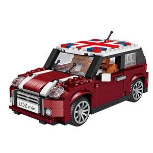 LOZ 1111 Mini Cooper Car Model