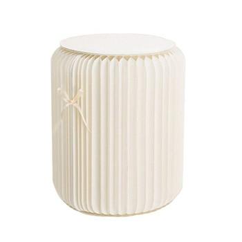 Taburete moderno de 11 pulgadas silla plegable Taburete diseño de papel con...