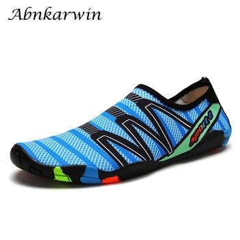 20f90ea0a392 Suave zapatos de agua zapatos verano Aqua arriba los zapatos de los hombres  de playa, zapatillas de ...