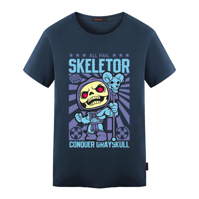 Skeletor Avater T Shirt Design Inspired By He-Man Master Universe T-shirt Style Cool Novelty Funny Tshirt Men Women Printed Tee ...