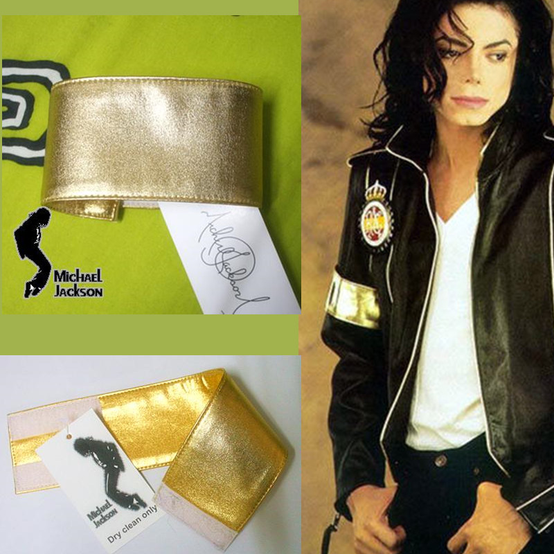 MJ Michael Jackson Classic Golden Armband For Preformance Collection