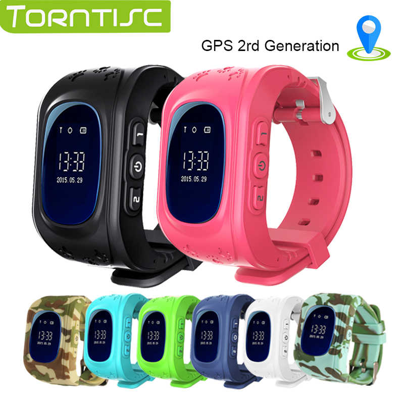 TORNTISC smart watch Q50 passometer kids watches smart Baby  children watch GPS 2rd generation SOS Location Finder