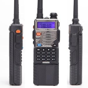 Image 2 - BAOFENG UV 5RE 8W powerful Walkie Talkie 3800mAh 10km long range uhf vhf Band portable cb ham radio Upgrade of UV5RE for hiking