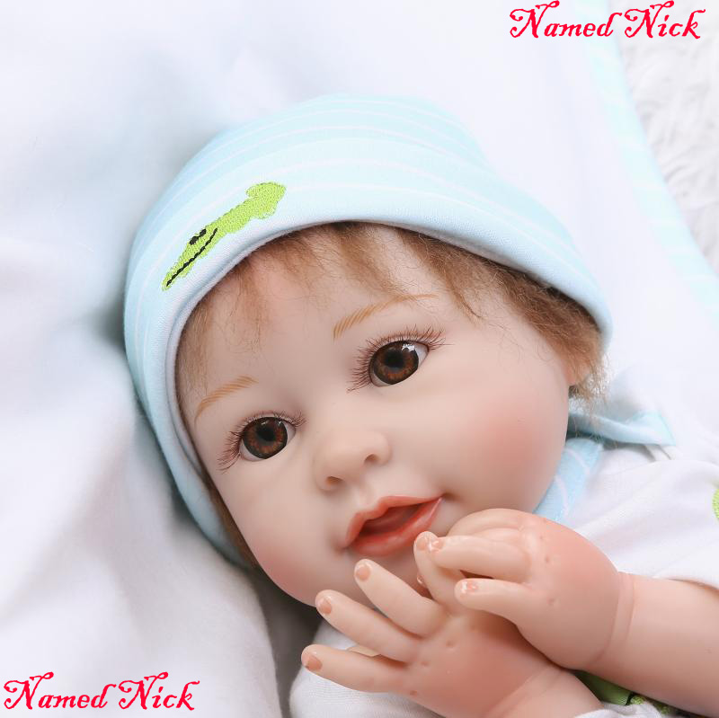 NPK soft body silicone reborn baby dolls  2255cm bebe girl boy reborn babies for children gift toys bonecasNPK soft body silicone reborn baby dolls  2255cm bebe girl boy reborn babies for children gift toys bonecas