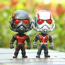 2015 Ant-Man Toys 1 pcs Action Figures Toy Ant man Collection American Movie Hero 11.5cm PVC Cartoon Figure Set Gift for Kids