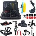 For xiaomi yi accessories set for xiaomi yi basic xiaomi yi 2 4K gopro sjcam sj4000 m10 m20 xiaomi yi 2 camera with camera case