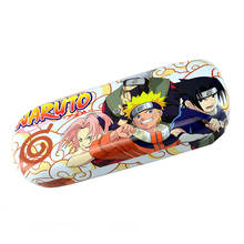 Anime Naruto Cartoon Logo PU Leather Glasses Box Spectacle Case Eyeglasses for children #41