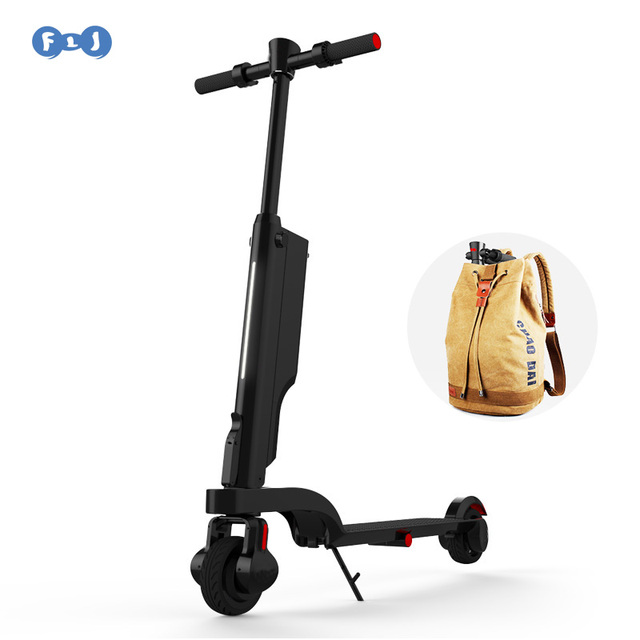 Flj Mini Foldable Electric Scooter Bike Bicycly Scooters For S Or Children Boy Easy