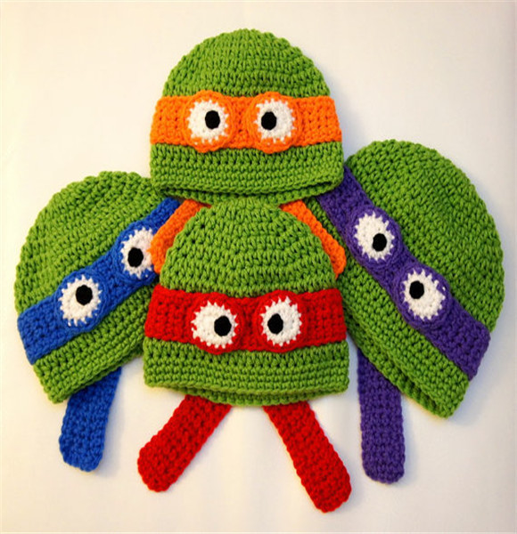 Wholesale Baby Hat 700+ Designs You pick Ninja Turtles Minion despicable Me hat Owl Hat Baby Photo Props Baby caps Beanies