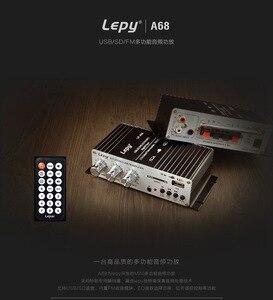 Image 4 - KYYSLB 2020 Neue 370BT Fernbedienung Bluetooth Verstärker Computer MP3U Festplatte Sd karte Wiedergabe, radio Funktion 12V Auto Verstärker