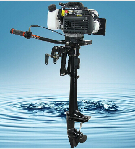 Best quality 4 stroke 3 6hp hangkai outboard motor boat for What is the best outboard motor