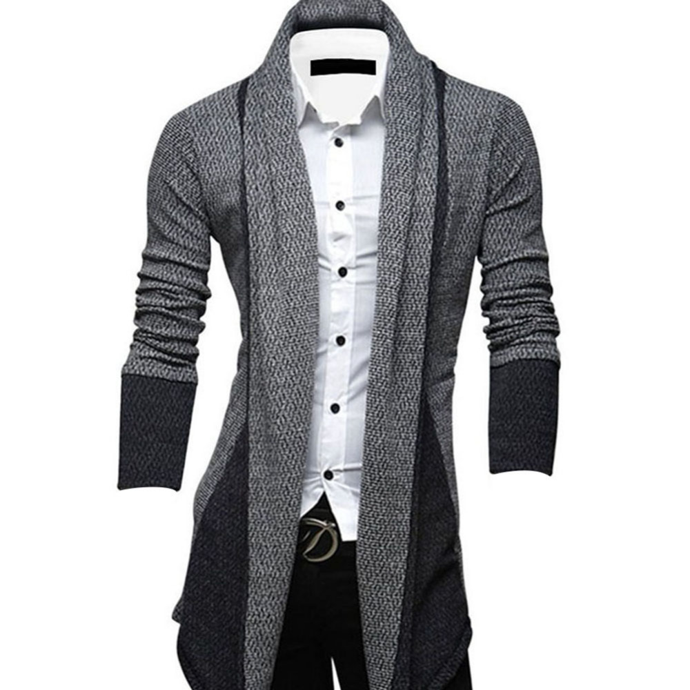 Hemiks 2016 Spring Corea No buttons lapel slim fit Cardigan Men's ...