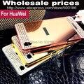 Алмаз, Горный Хрусталь + Алюминий зеркало case чехол Для HuaWei P7 P8 P9 lite Plus G7 G8 G610 G620s Honor 6 3C 4C 5C 3X 4X 5X Mate 7 8