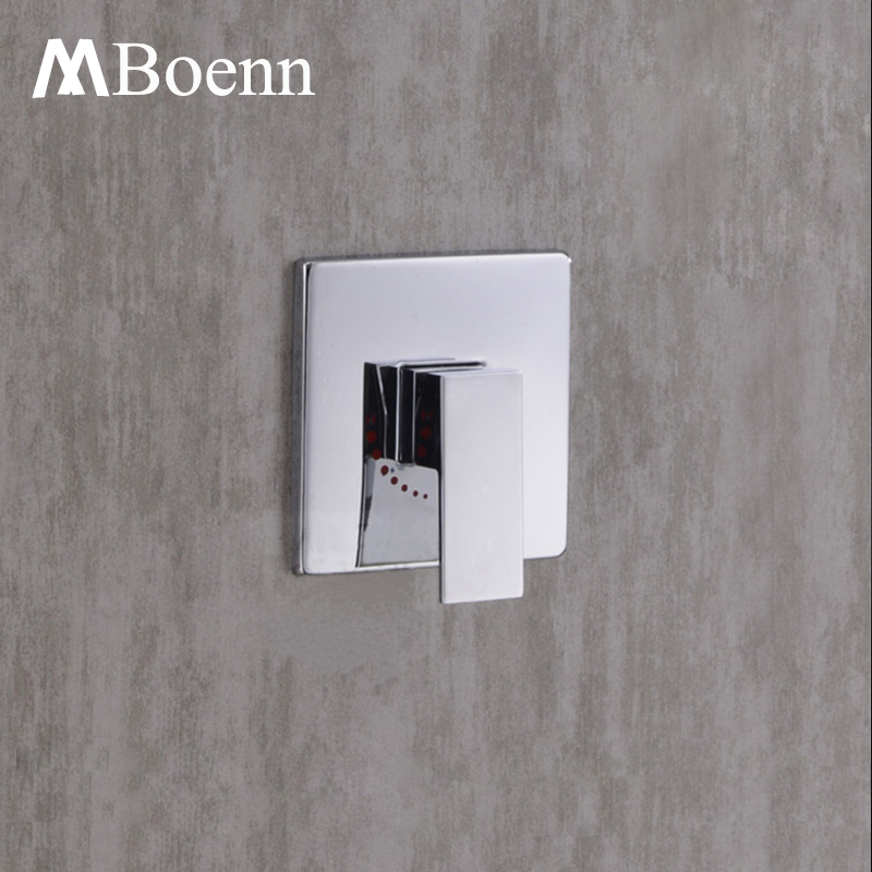 Shower Valve Mixer Contemporary In Wall Concealed Bathroom Shower Faucets Control Switch Valve Hot Cold Water Flow Brass Faucet xueqin bathroom bath shower faucets water control valve wall mounted ceramic thermostatic valve mixer faucet tap