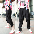 Брюки мода мужчины осенние и зимние брюки middlelowlevel одежда гарем мужской большой файл Большой размер костюмы брюки