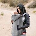 Frete Grátis Cinza Estilingue Do Bebê Manto Quente cobertor Envolto manto Vento Do Inverno Fora Necessário TRQ0129