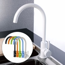 цена на CLOUD POWER Classic  Kitchen Sink Faucets with Black, White, Green , Orange Color , Brass Kitchen Sink Mixer taps With Wholesale